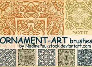 Ornament_art_part_II_by_NadinePau_stock