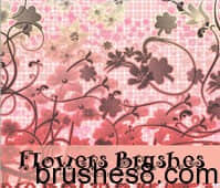 Flowers_Brushes_by_Coby17