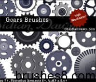 Gears_Vectors_Brushes_by_redheadstock