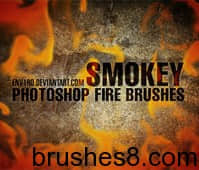SMOKEY_Fire_Brushes_by_env1ro