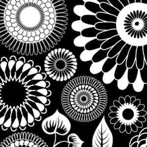 日本的花纹笔刷