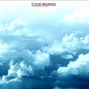 高空云层笔刷