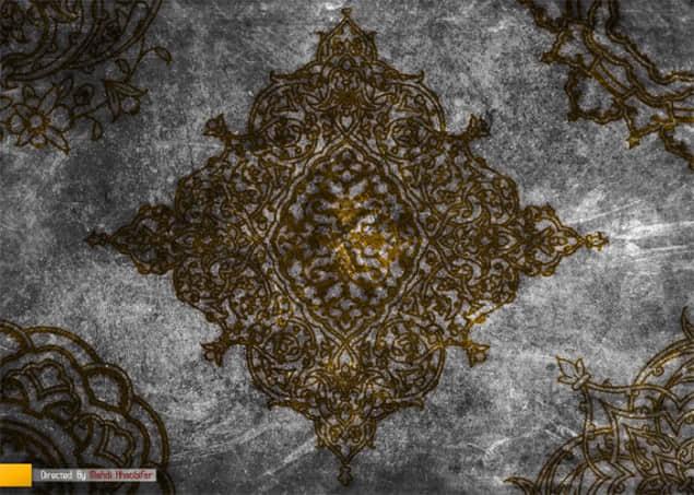 古典墙壁装饰花纹笔刷