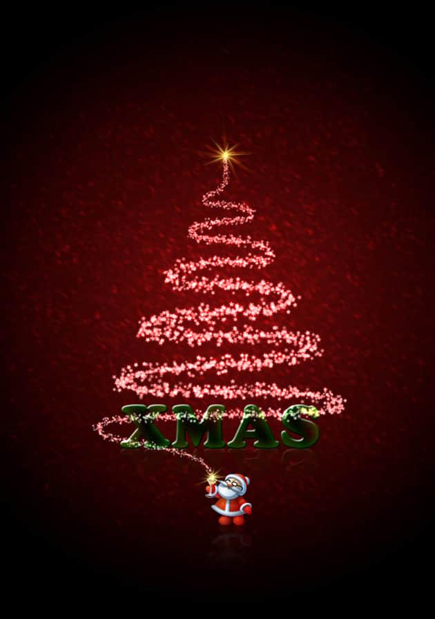 免费圣诞贺卡素材 : ps笔刷吧-笔刷免费下载