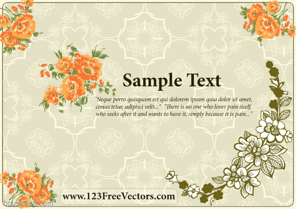Free-Flower-Wedding-Invitation-Card-Design