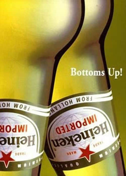 Heineken-bottoms-up