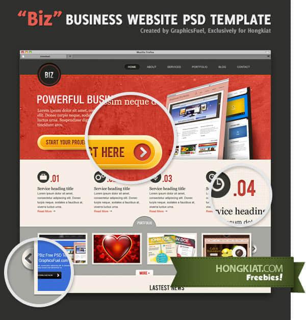 biz-business-website-psd-template