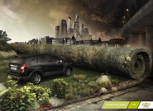 创意汽车广告 – 国外平面设计大师的作品