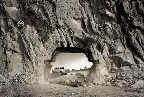 70个创意平面作品国外平面设计广告的汽车大师设计师价值观图片