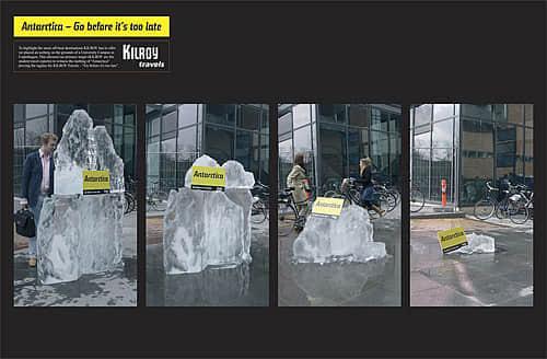 情景互动式创意广告图片