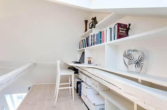 16張來自瑞典的閣樓公寓設計照片