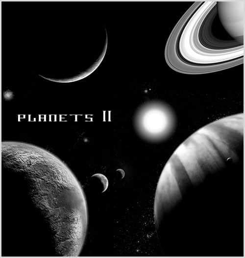 宇宙行星笔刷