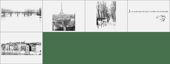 法国城市笔刷