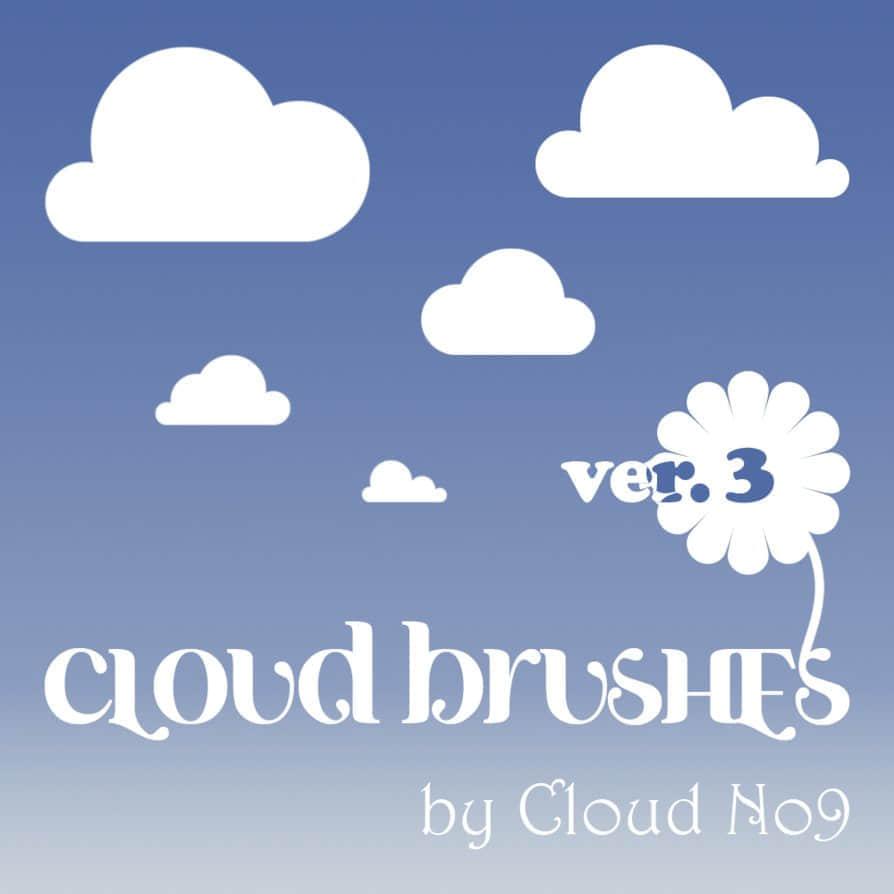 矢量云朵笔刷