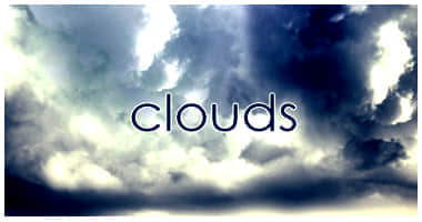 雷暴天气云朵笔刷