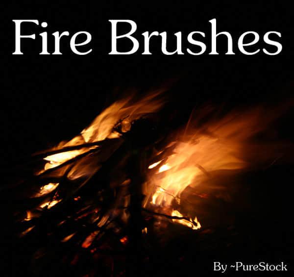 篝火式火焰笔刷