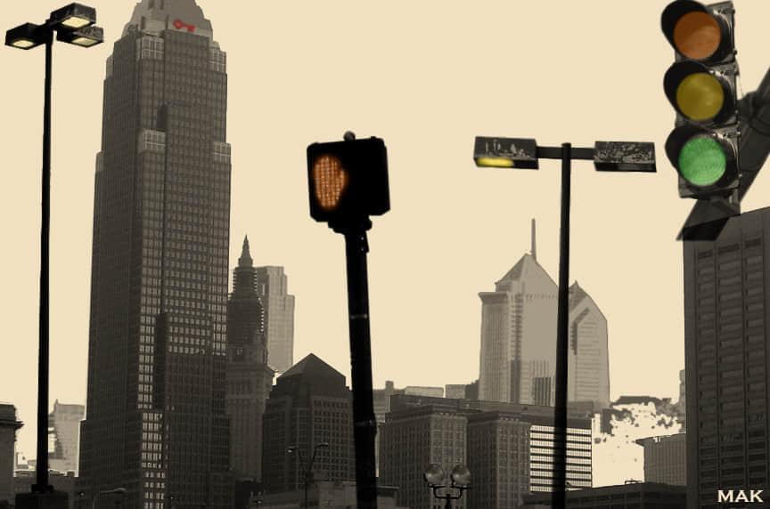 现在都市城市笔刷