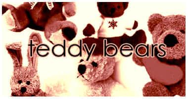 卡哇伊的泰迪熊笔刷
