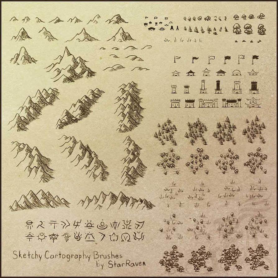 游戏小地图素材