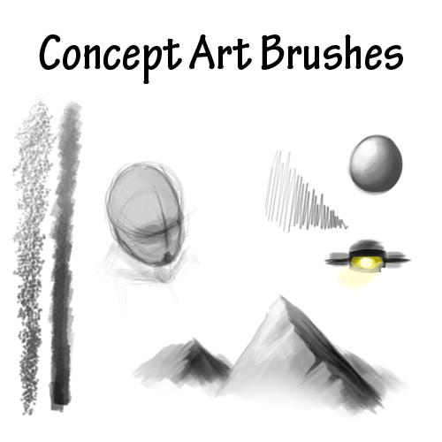 概念艺术创意笔刷