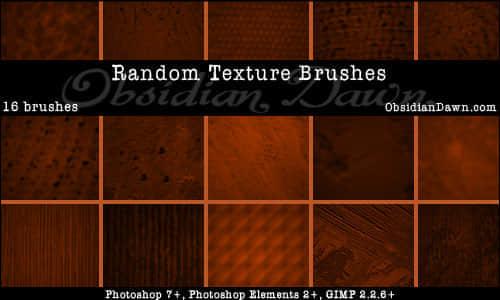 16种背景纹理效果笔刷 纹理笔刷  background brushes