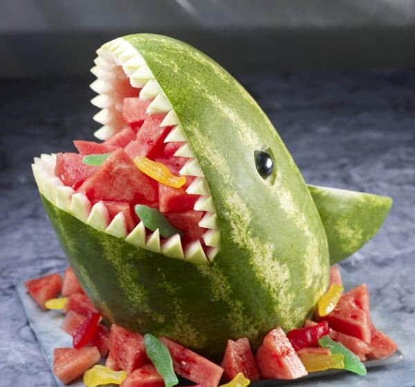 20个有趣的创意水果动物造型