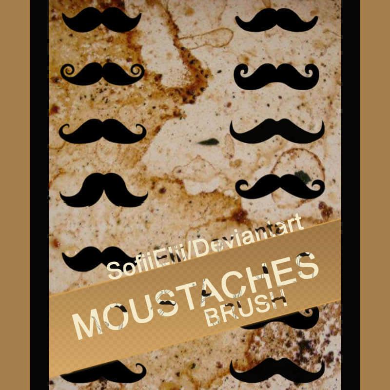 brush-moustache