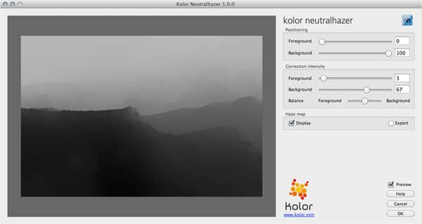 Photoshop风景照片薄雾模糊消除滤镜 Kolor.Neutralhazer.v1.0.2免费下载 Photoshop滤镜插件 Photoshop模糊滤镜  ruanjian jiaocheng