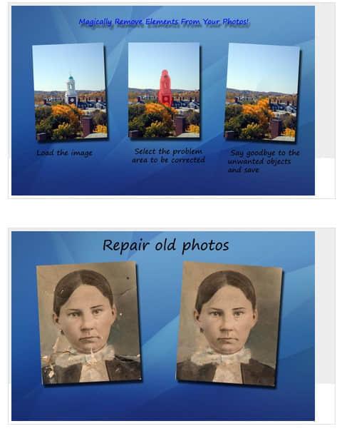 智能化的图片去水印工具软件 Teorex Inpaint v4.7 绿色版 照片修复软件 水印去除软件  ruanjian jiaocheng