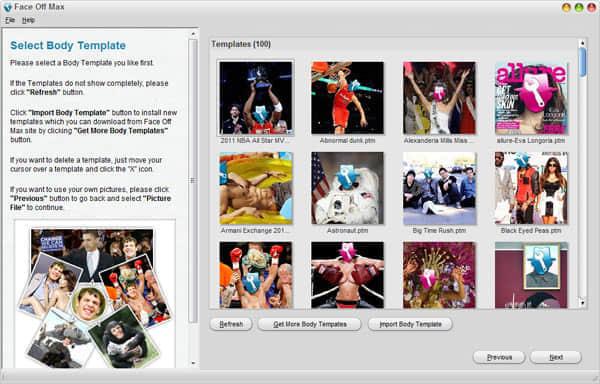 有趣的自动化变脸软件 CoolwareMax Face Off Max V3.4 有趣的照片处理软件 换脸软件 傻瓜式变脸软件  ruanjian jiaocheng