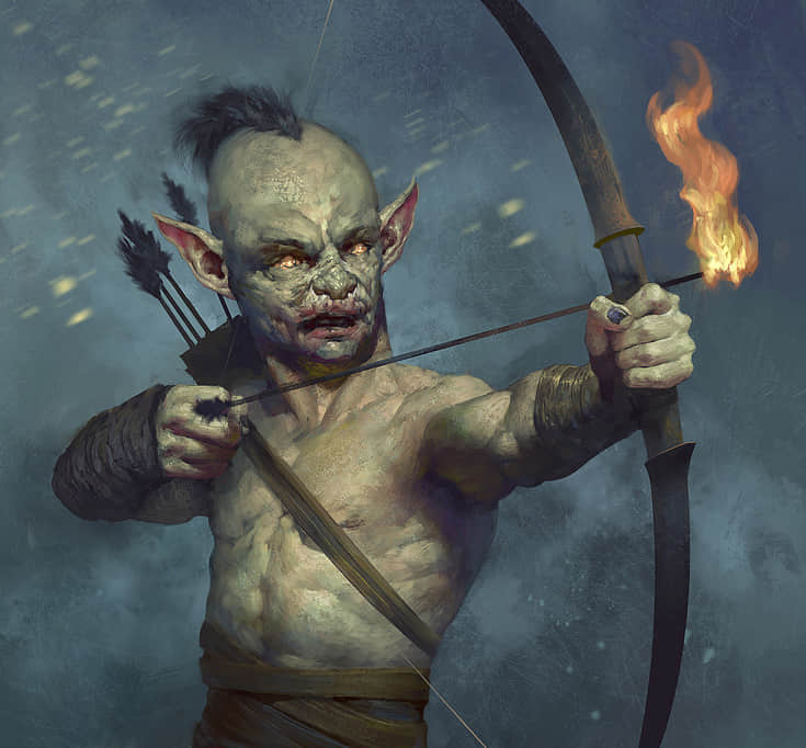 26-goblin-zombie-archer-illustrations-drawings-artworks