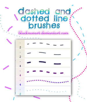 Dashed_and_Dotted_Line_Brushes_by_blacknovART