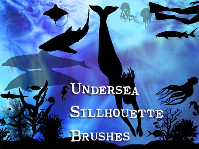 海底神秘生物笔刷