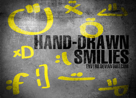 b-hand-drawn_smilies