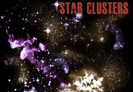 b-star_cluster_brushes
