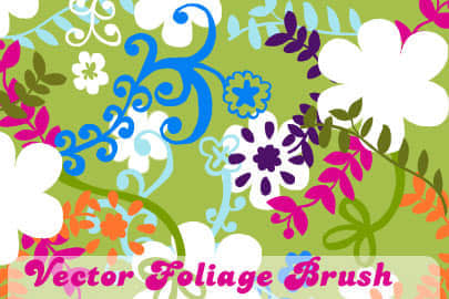 b-vector_foliage_brushes