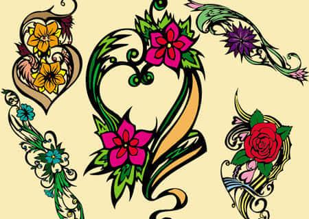 b-ornamental_flower_brushes