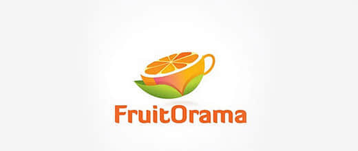 33-cup-orange-logo-design