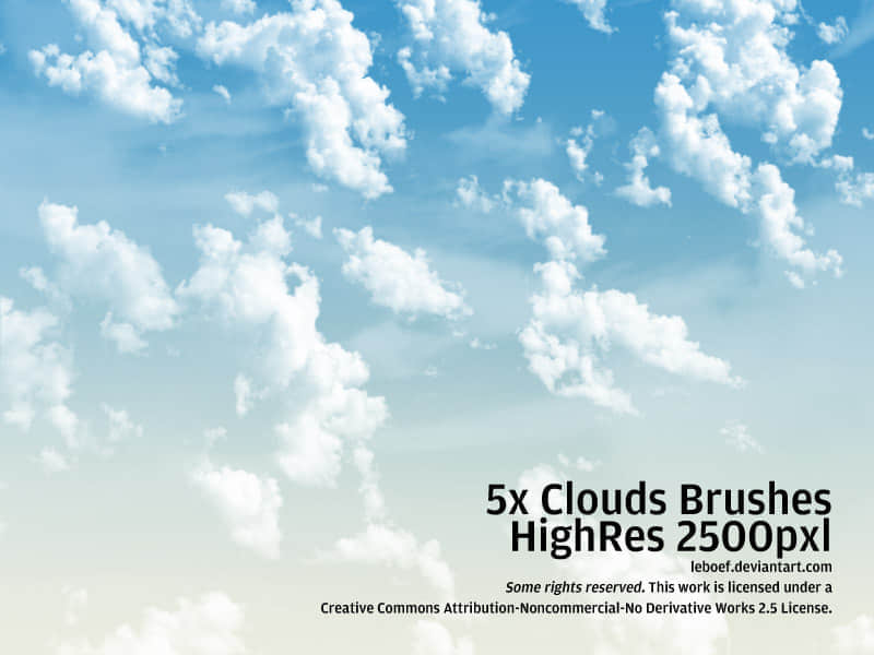 Cloud_Brushes_HiRes_Nr_3_of_5_by_leboef