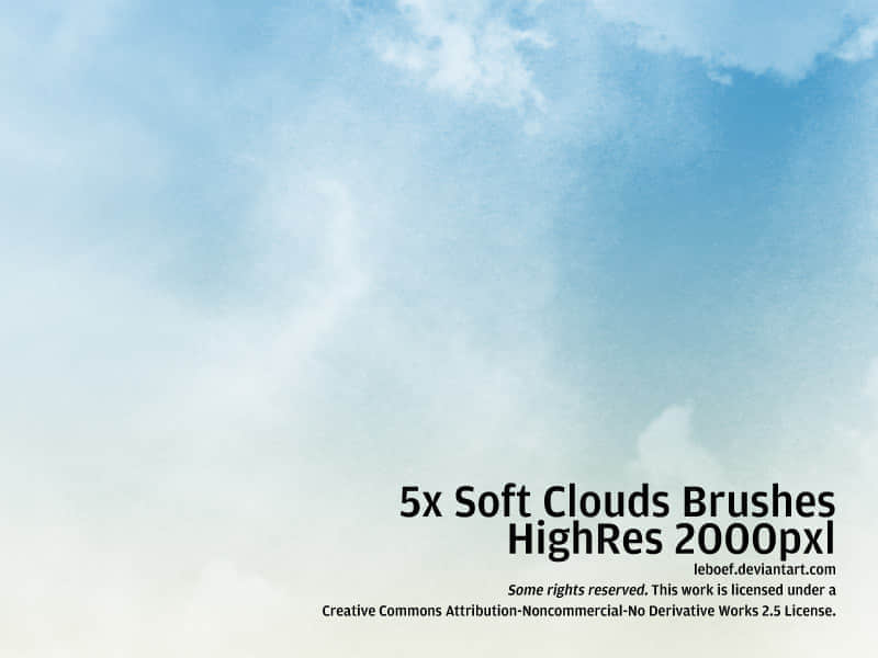 Cloud_Brushes_HiRes_Nr_4_of_5_by_leboef