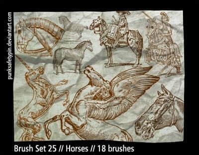 Brush_Set_25___Horses_by_punksafetypin