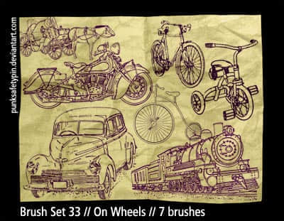 Brush_Set_33___On_Wheels_by_punksafetypin