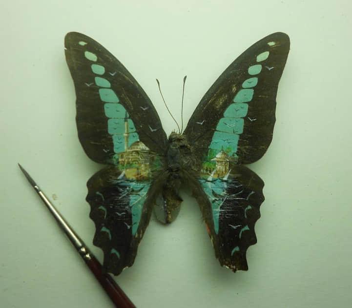 10个极致微型作画艺术创作 袖珍艺术创作 微型作画  crazy ideas