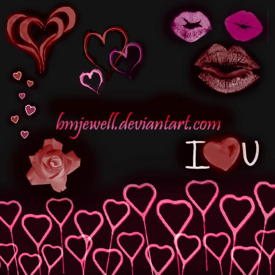 Romance_Brushes_by_bmjewell_stock