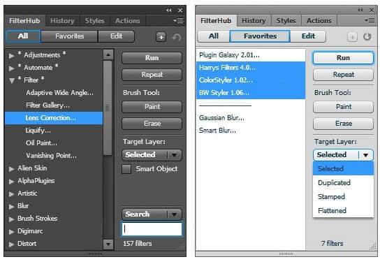 Photoshop面板扩展插件软件 FilterHub V.1.2 中文免费版下载 PS插件 Photoshop插件  ruanjian jiaocheng