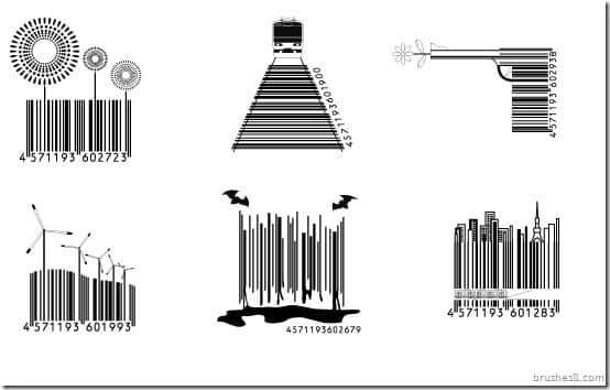 条形码也爱玩个性差异,时尚条形码设计 条形码设计 条形码艺术  crazy ideas %e5%88%9b%e6%84%8f%e7%94%9f%e6%b4%bb