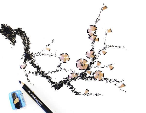 化妆品也能当画具!妆点中国风绘画 奇异作画  crazy ideas