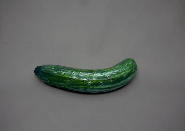 你确定是一根黄瓜?其实它是一根香蕉!超现实绘画技艺展示 超现实绘画  crazy ideas