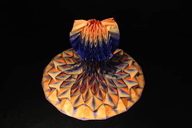 """25件风姿摇摆的 """"折纸艺术裙装"""" 服饰欣赏 纸艺术 创意服装  crazy ideas"""