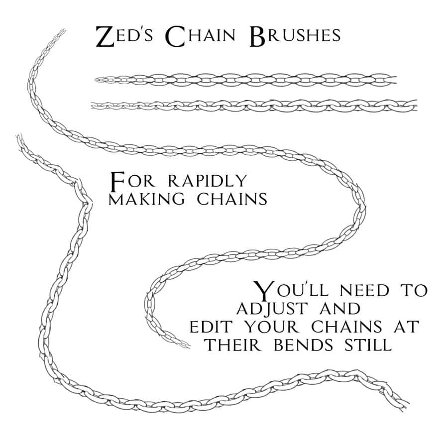 chain-free-brushes